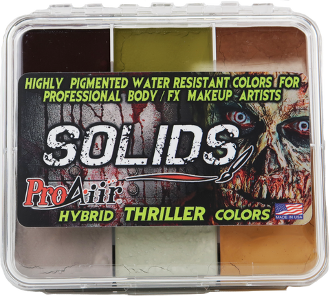 Paleta ProAiir Colores Thriller (Base Alcohol)
