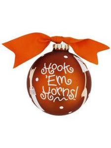 Coton Colors Hands Up Cheer Ornament - Univ. of Texas
