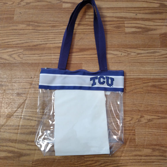 TCU Game Day Bag with Gray Stripe