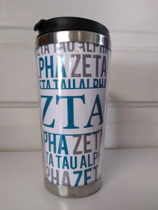Travel Mug - Zeta Tau Alpha