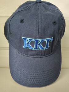 Navy Embroidered Cap - Kappa Kappa Gamma
