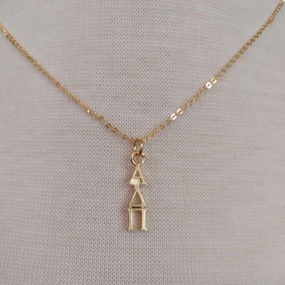 18K Gold Dipped Drop - Alpha Delta Pi