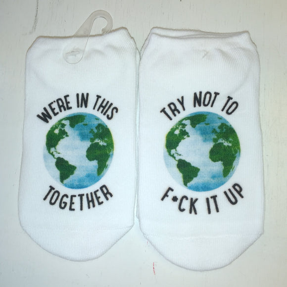 No-Show Socks - In This Together
