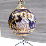 Cloissone Ornament - TCU Perfect Season