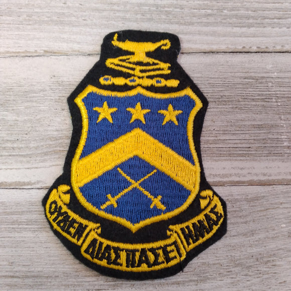 Embroidered Patch - Pi Kappa Phi