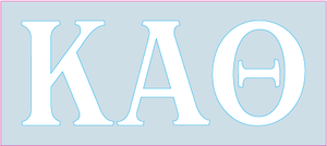 White Decal - Kappa Alpha Theta