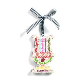 Dana's Designs Ornament - Alpha Chi Omega