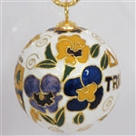 Kitty Keller Christmas Ornament - Delta Delta Delta