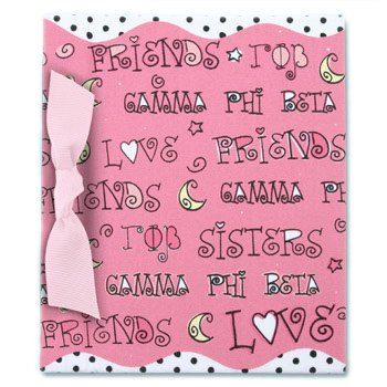 "4"" x 6"" Photo Album - Gamma Phi Beta"