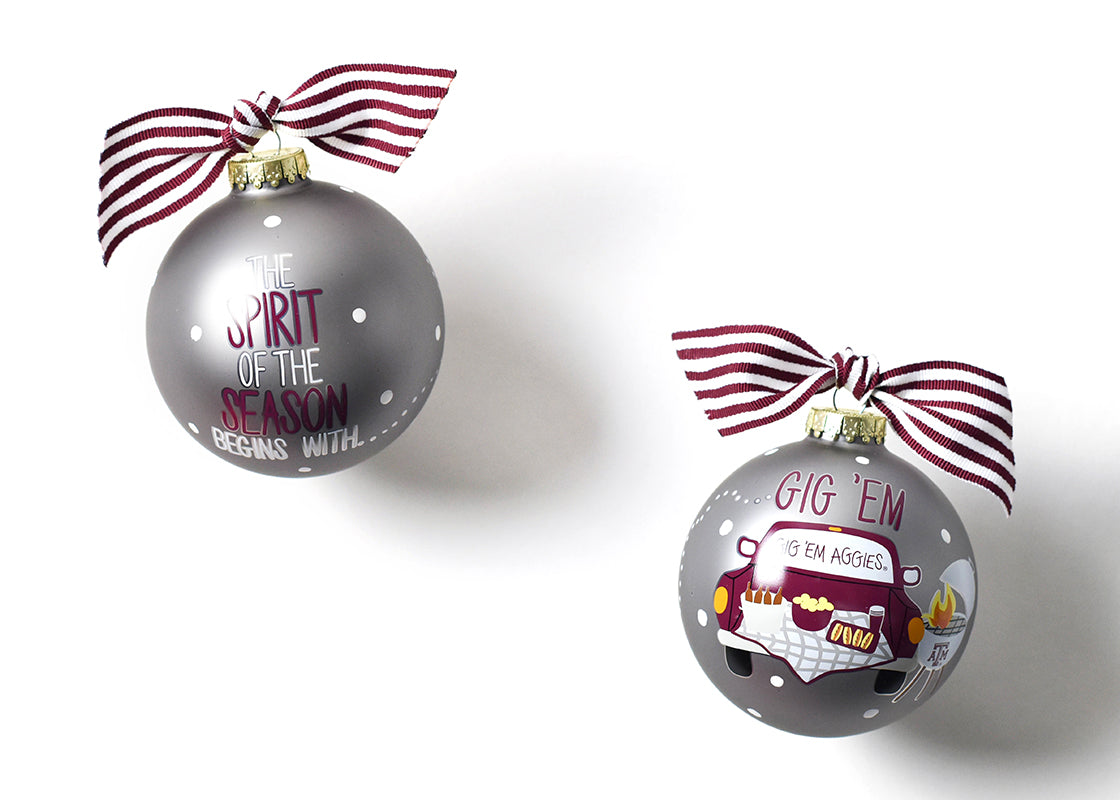 Coton Colors Tialgate Ornament - Texas A&M