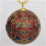 Kitty Keller Christmas Ornament - Pi Beta Phi