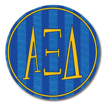 Circle Bumper Sticker - Alpha Xi Delta