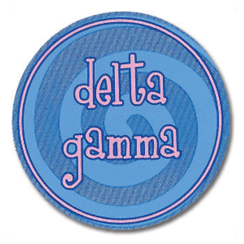 Circle Bumper Sticker - Delta Gamma