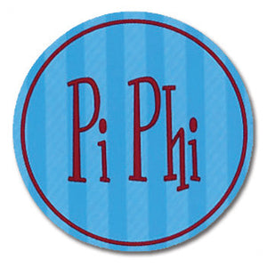 Circle Bumper Sticker - Pi Beta Phi