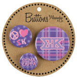 Button Set - Sigma Kappa