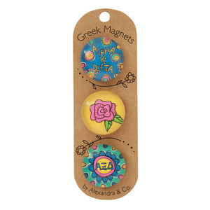 Greek Magnet Set - Alpha Xi Delta