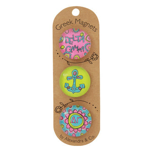 Greek Magnet Set - Delta Gamma