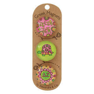 Greek Magnet Set - Delta Zeta