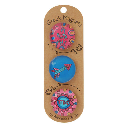 Greek Magnet Set - Pi Beta Phi