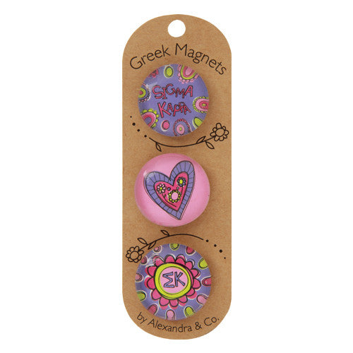 Greek Magnet Set - Sigma Kappa