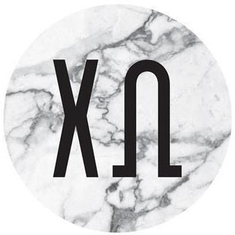 Marble Print Decal - Chi Omega