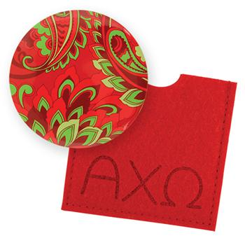 Button Mirror - Alpha Chi Omega