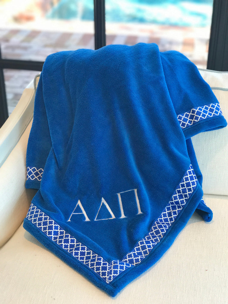 Fleece Blanket - Alpha Delta Pi