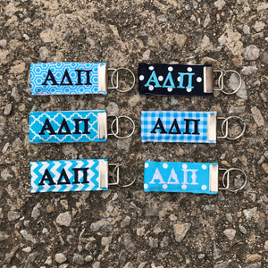 Ribbon Key Fob - Alpha Delta Pi