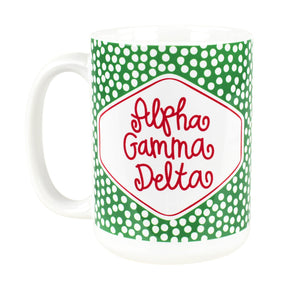 Small Dot Mug - Alpha Gamma Delta