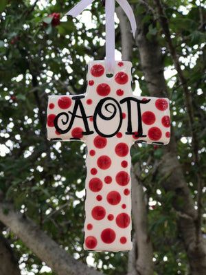 Small Cross - Alpha Omicron Pi