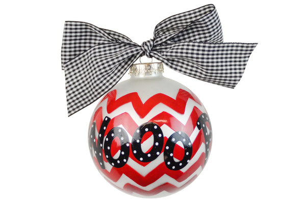 Coton Colors Chevron Ornament - Arkansas