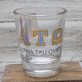 Shot Glasses - Alpha Tau Omega
