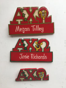 Name Tag - Alpha Chi Omega