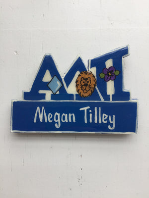 Name Tag - Alpha Delta Pi