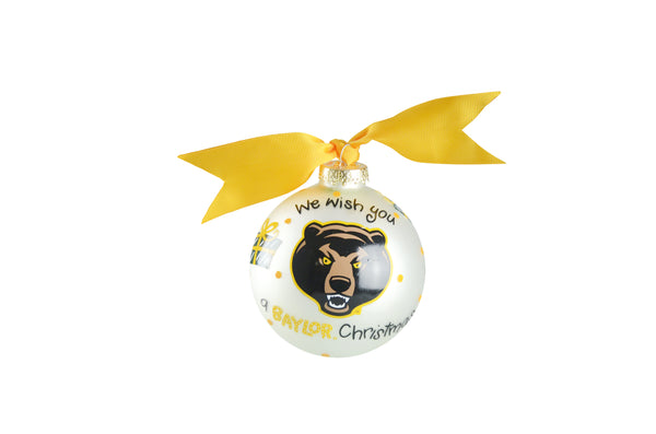 "Coton Colors ""We Wish"" Ornament - Baylor"