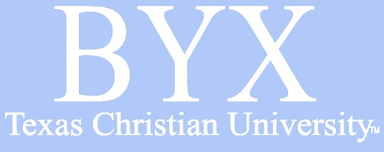 White TCU Car Decal - BYX - Brothers Under Christ