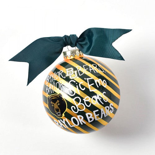 "Coton Colors ""Sic 'Em Bears"" Ornament - Baylor"