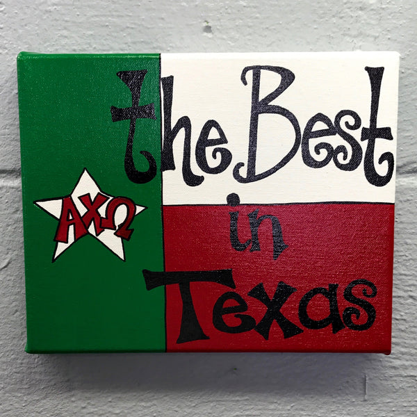 Best in Texas - Alpha Chi Omega