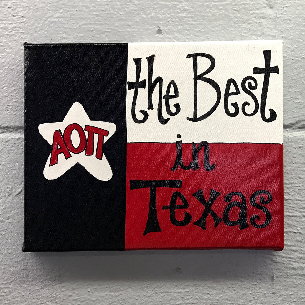Best in Texas - Alpha Omicron Pi