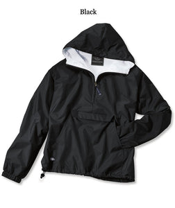 Charles River Rain Jacket - Delta Gamma - Texas Christian University
