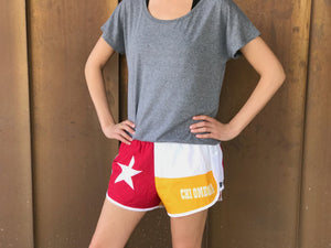Texas Flag Sorority Shorts - Chi Omega
