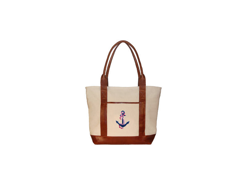 Needlepoint Tote Bag - Delta Gamma