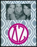 Frame with Printed Mat - Delta Zeta
