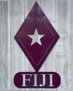 Metal Wall Decor - Fiji