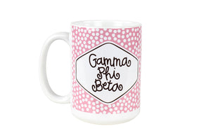 Small Dot Mug - Gamma Phi Beta
