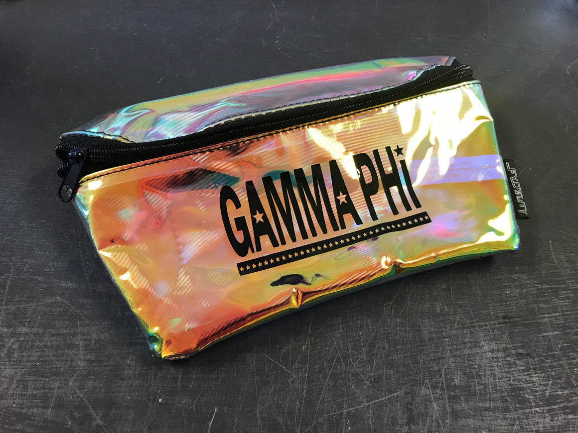 Hologram Fanny Pack - Gamma Phi Beta