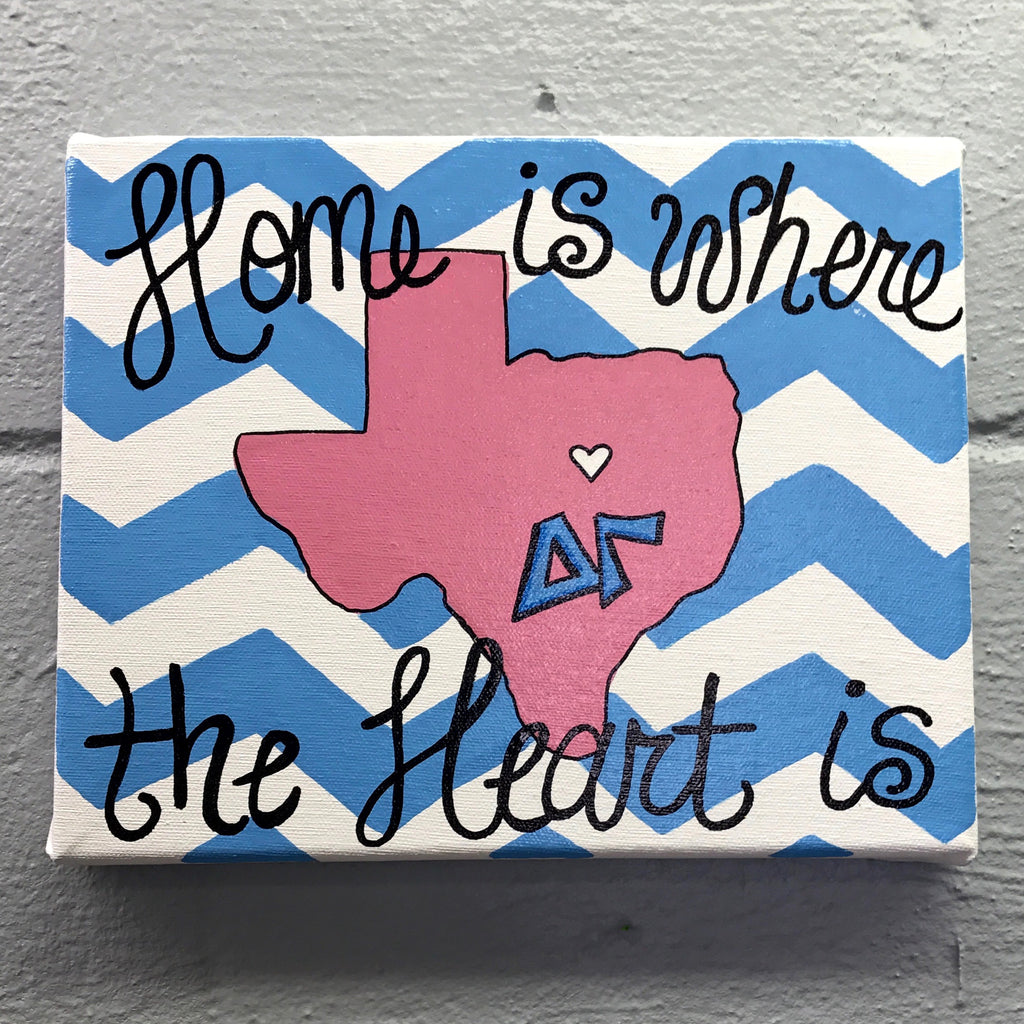 Home is where Delta Gamma is
