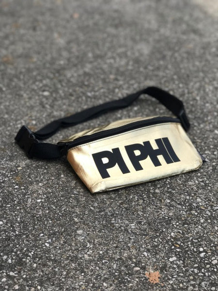 Gold Fanny Pack - Pi Beta Phi