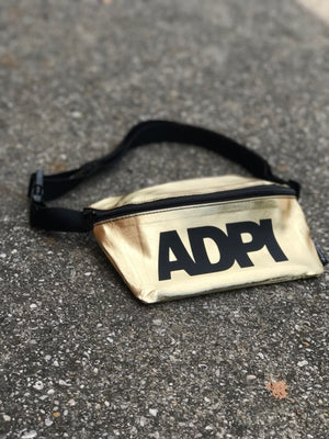 Gold Fanny Pack - Alpha Delta Pi