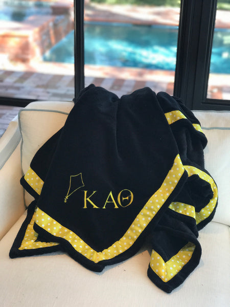 Fleece Blanket - Kappa Alpha Theta